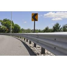 Autobahn Leitplanke