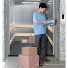 Ascenseur de cargaison intérieure électrique 5000kg bon marché d'acier inoxydable