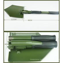 Camping tipo de Germeny pala plegable de acero al carbono (CL2T-SF304GB)