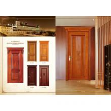 White Flush Inside Room Wooden Door