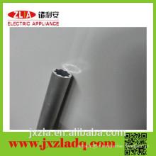 Full range of sizes aluminium round tube