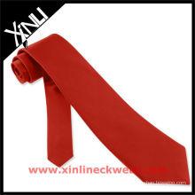 Venda quente gravata vermelha
