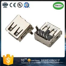 Mini USB Receptaclefemale USB a Ethernet Terminal de adaptador Micro USB Conector Terminal Micro USB Conector Hembra USB a Ethernet Adaptador Mini USB Receptáculo (F