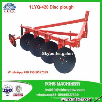 Arado de disco claro 1lyq-420 do dever do equipamento da agricultura para o trator de Foton