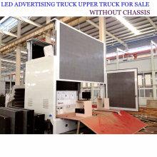 Camión publicitario móvil modificado para requisitos particulares del LED con la etapa