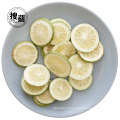 Freeze Dried Green Lemon Slices Rich Nutrition Snack