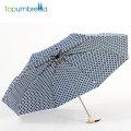 Le manuel simple de conception de coutume de style s'ouvrent facile pour porter le petit parapluie de 3 plis