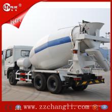 Caminhão concreto do misturador de 8 medidores cúbicos, caminhão do misturador concreto 8m3