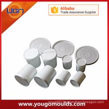 Low cost color plastic cement concrete brick mold