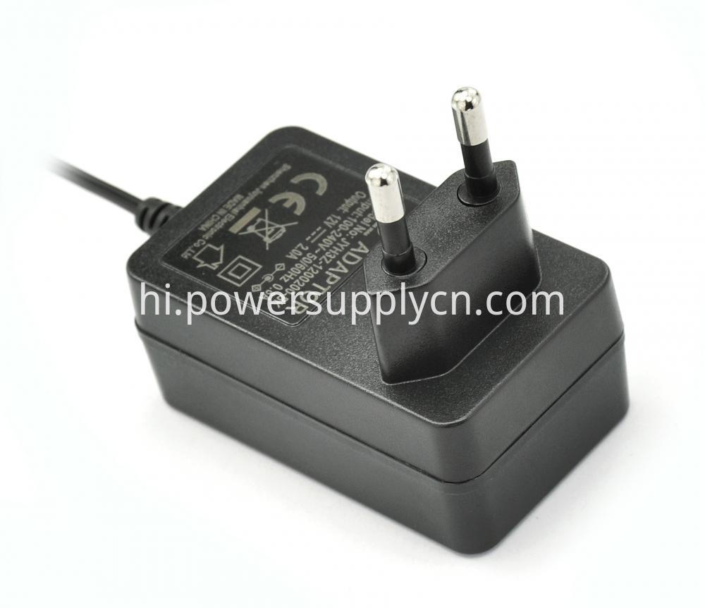 12v 2a 24w Ac Dc Power Supply Adapter Wall Charger 3