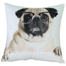 Custom Print Fleece Fabric 45*45cm Sofa Chair Bedding Throw Cushion