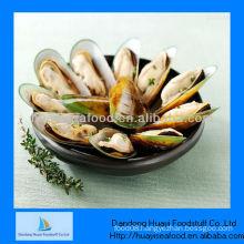 frozen half shell mussels price
