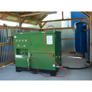 Kleine CNG Tankstelle Kompressor