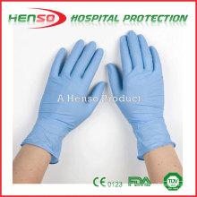 Luvas de exame de nitrilo não-estéril Henso