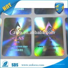 ZOLO PET sichere echte Hologramm-Aufkleber mit Nummer