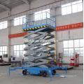 4-20 m manuelle bewegliche mobile Scherenbühne