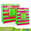 La muestra material libre respetuosa del medio ambiente ofrece el logotipo personalizado impreso bolsas de regalo de plástico guangzhou
