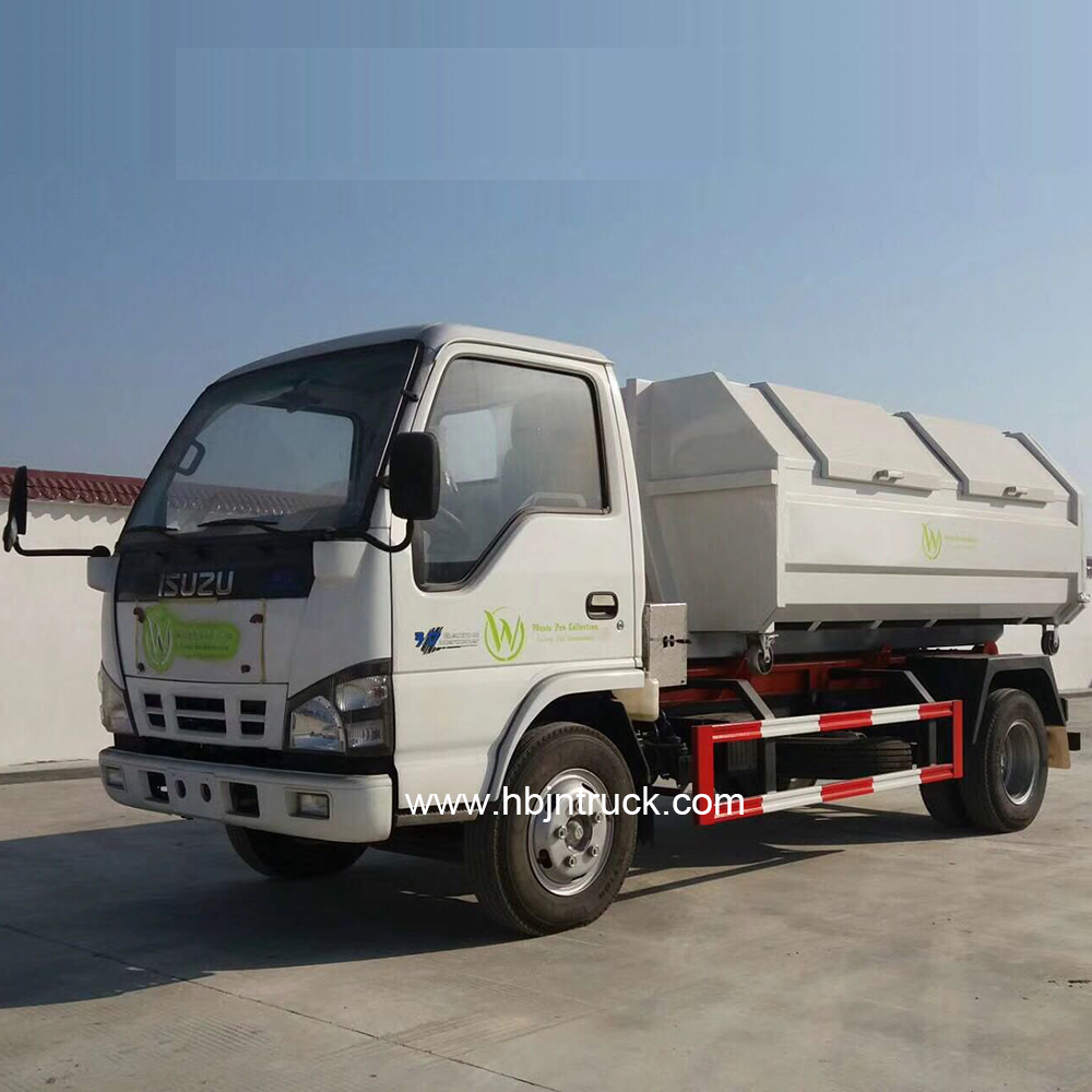 Isuzu hook loader