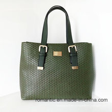 Fashion Designer Embossed PU Leather Women Handbags (NMDK-032302)