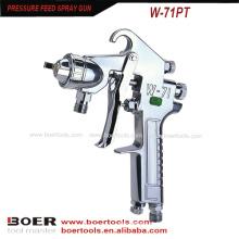 Tanque de pintura de pistola de alimentação de pressão W-71PT