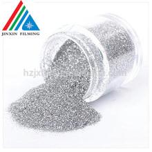 100% reines Shinny Glitter Powder Hochwertiges goldenes / silbernes PET Mylar Ornament Powder