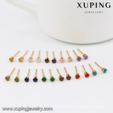 29358-Xuping mini 1gram femmes bijoux en or plaqué or 18k