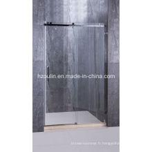 Porte de douche en acier inoxydable