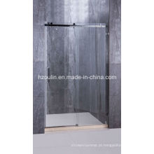 Porta do chuveiro de aço inoxidável