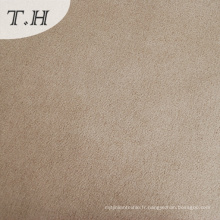 100% tissus de daim de polyester pour la tapisserie d'ameublement de voiture