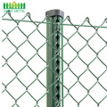 Jual Terbaik Galvanized PVC Coated Chain Link Fencing