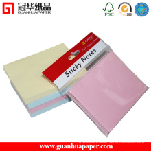 2016 Best Selling 3X3 Sticky Notes Manufacturer