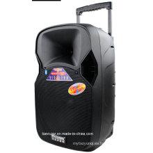Cargador del altavoz de la batería 12inch con el micrófono inalámbrico Bluetooth F87