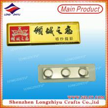 Namensschild-Magneten Gold beendet