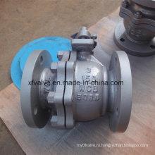 150lb 300lb Wcb RF ручной шаровой кран