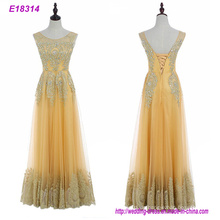 Großhandel Xiamen Frau Elegent lange handgemachte sexy Abendkleider