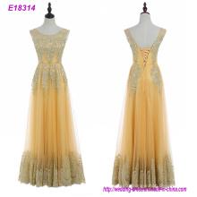 Wholesale Xiamen Woman Elegent Long Hand-Made Sexy Evening Dresses