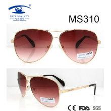 Große Größen-neuer Entwurfs-heiße Verkaufs-MetallSonnenbrille (MS310)