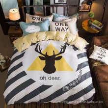 100% Baumwoll-Druckstoff für Bettwäsche und andere Heimtextilien