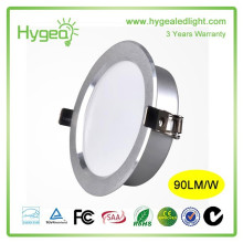2015 recessed 8w housing dimmable cob led downlight