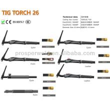 Argon Gas Tig Schweißbrenner Schweißen Verbrauchsmaterial WIG 26 und Ersatzteile