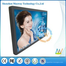 21.5 inch LCD indoor advertising display screen with motion sensor