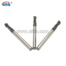 High Quality HRC60 2 Flutes Ball Nose Carbide End Mill CNC Machine Tool