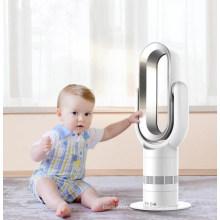 Ventilateur sans lame chauffante 1800W en gros en ABS intelligent, ventilateur sans lame chaud et froid
