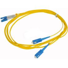 SC / PC к LC / UPC волоконно-оптический патч-корд, оптоволоконная перемычка, оптический патч-корд