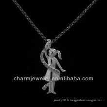 Angel CZ design pendentif pour femme PSS-001