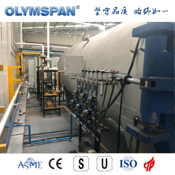 Autoclave ASME in materiale composito standard