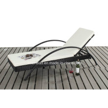 Wicker Lounge for Outdoor with One Piece (7615-3)