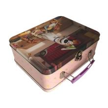 Handle Tin Box Индивидуальный металлический контейнер для олова для продвижения