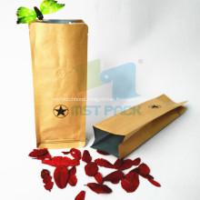 Side Gusset Kraft Paper Coffee Bag