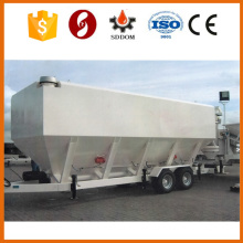 CE certifucated horizontal cement silo,mobile cement silo